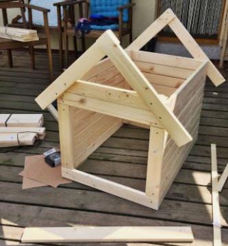 Cómo construir una caseta para un perro